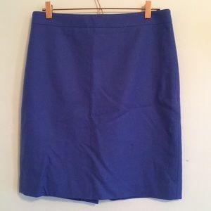 J Crew Wool Blend Pencil skirt